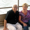 Dad & Lynn on the boat to Cap's Restaurant. (06.2008)