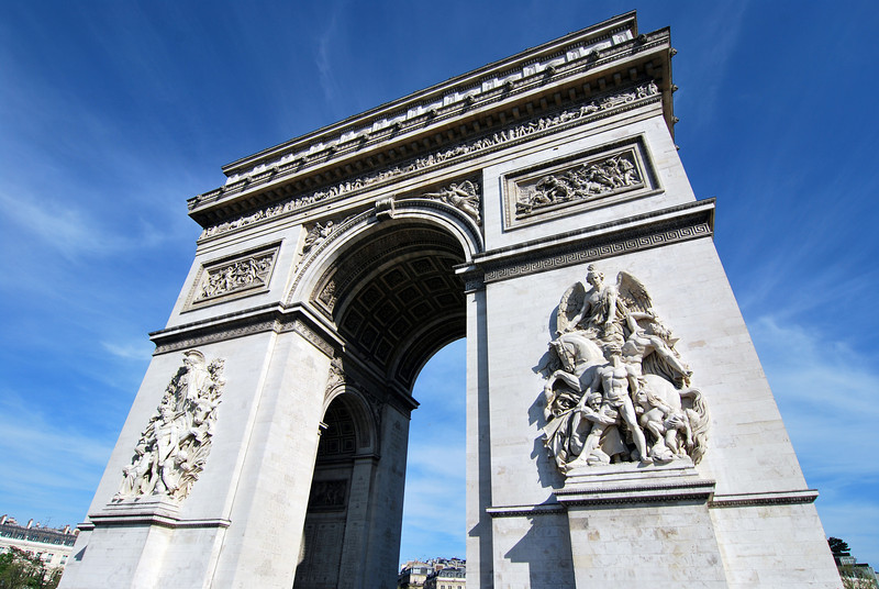 The Arc is 164' tall, 148' wide, and 72' deep.