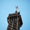 Broke out the 55-200 for a nice zoom shot of the top of the tower.