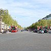 Standing at the Arc and looking down the Champs-Elysees (aka the Michigan Ave. of Paris).