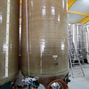 One of the vats holding the yummy wine
