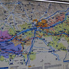 A map of the Loire river and wine valley; and with that, we're off to St. Julien!