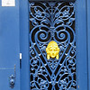 Honfleur blue door.