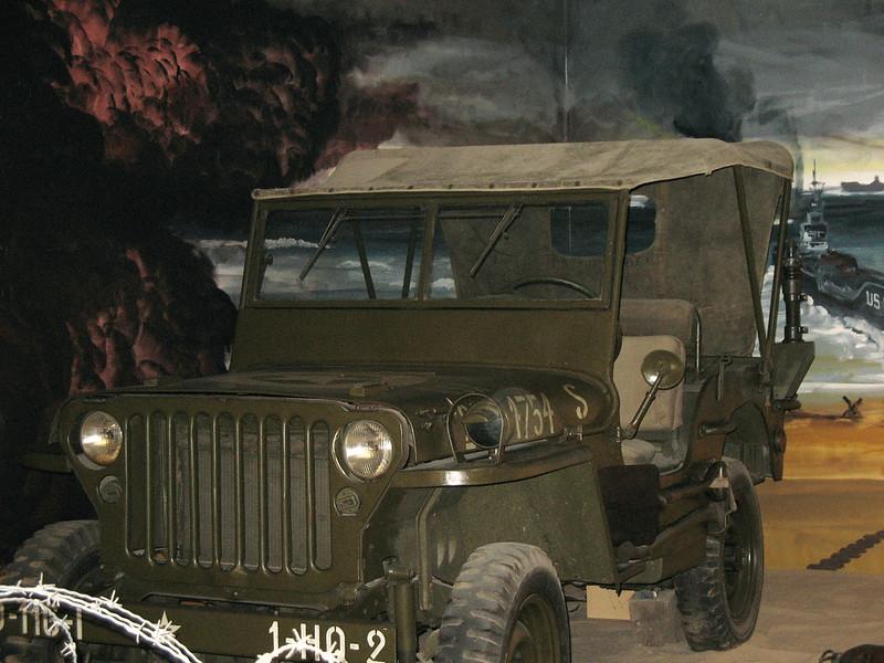 Omaha Memorial Museum exhibit.