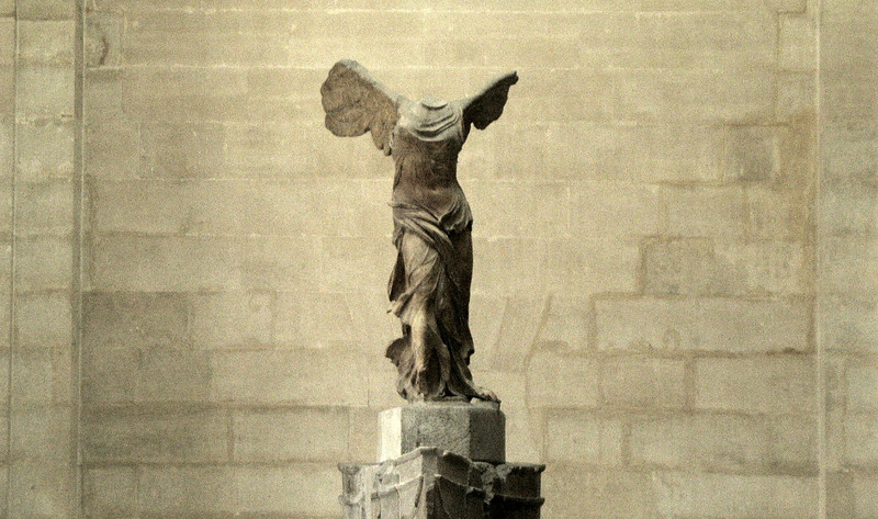 Winged Victory, Louvre.
