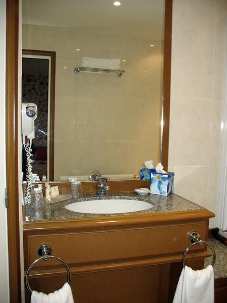 Bathroom, Chateau de Sully.