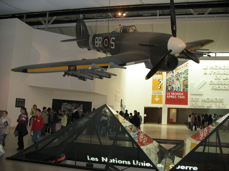 We were running late so viewed this remarkable museum superficially. Still, we  missed our train back to Paris.