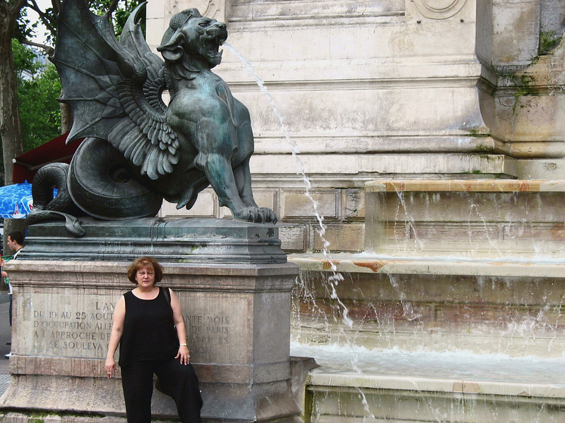 Fountain St. Michel, Latin Quarter.