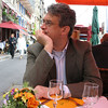 Lunch in Honfleur restaurant.