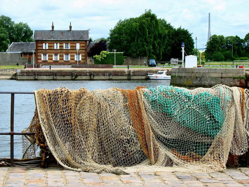 Honfleur fishing nets.