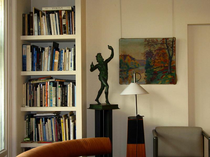 Madeleine's living room.