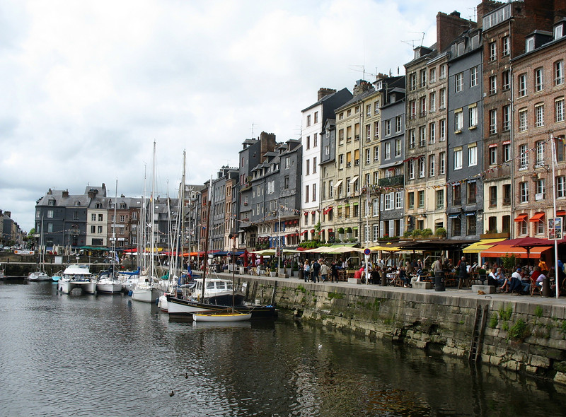 """In 1866 Baudelaire wrote his mother, """"To settle down in Honfleur has always been my fondest dream"""".  Easy to understand why."""