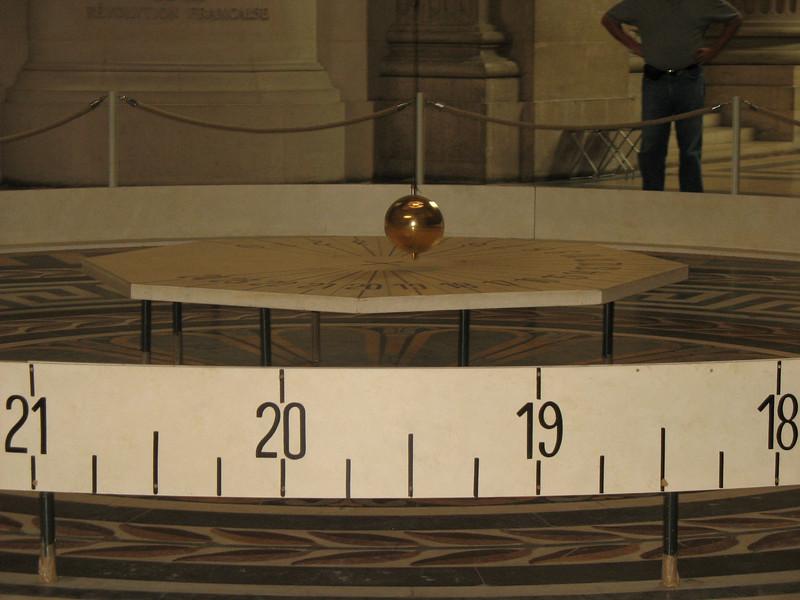 Foucault's Pendulum.
