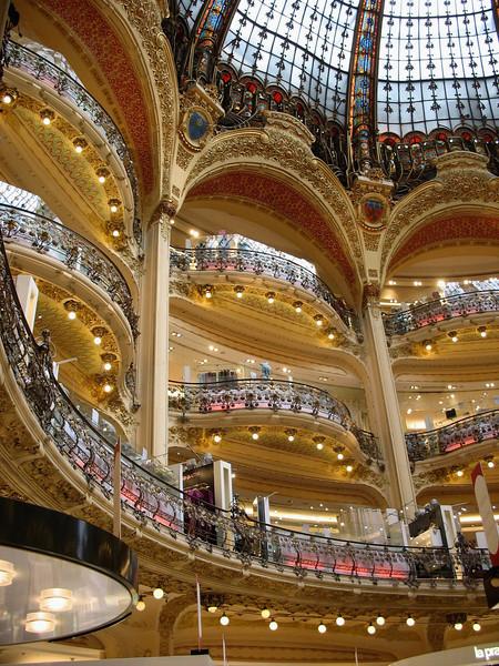 Galeries Lafayette, Paris' monument to consumerism.