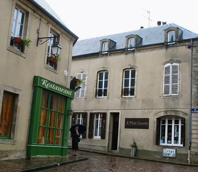 Bayeux in the rain.