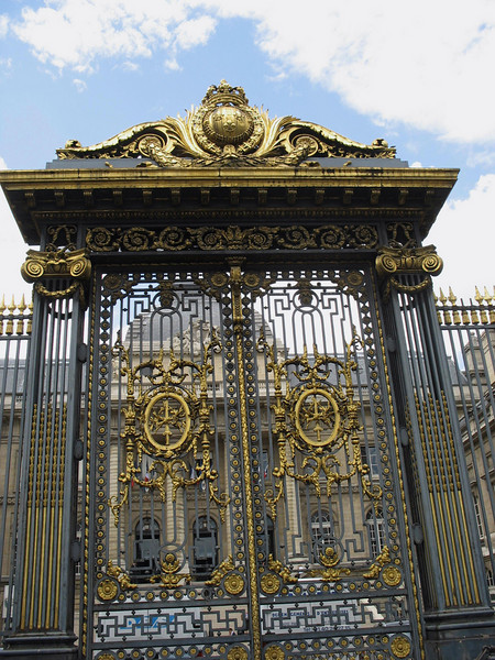 Gates to the Palace of Justice (High Court)..