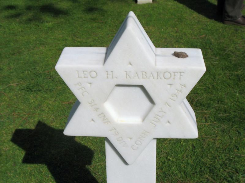 Star of David, Colleville-sur-Mer