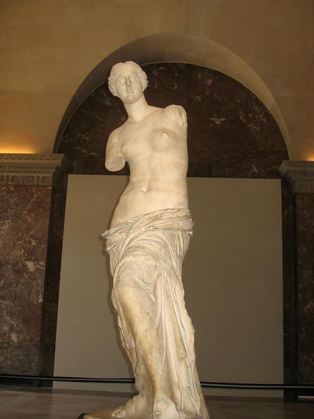 Venus de Milo, Louvre.