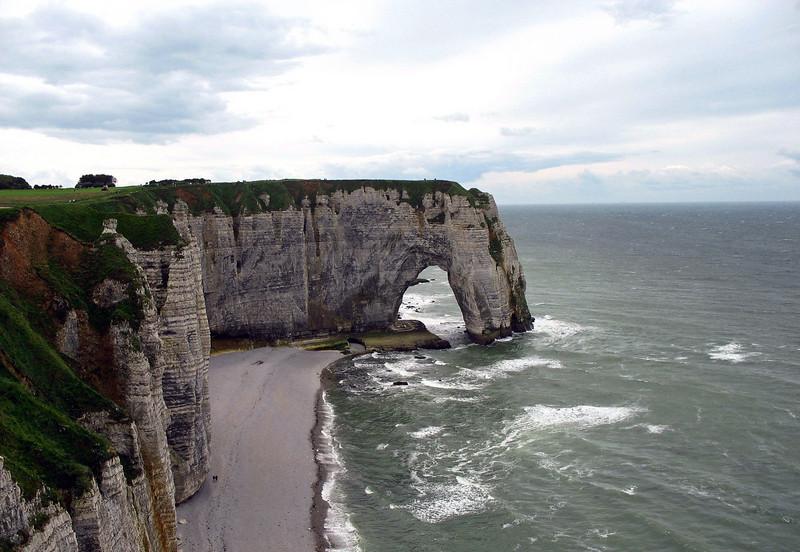 The Cliffs of Etretat.