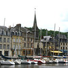 Opposite of Honfleur's Vieux Bassin (Old Harbor)
