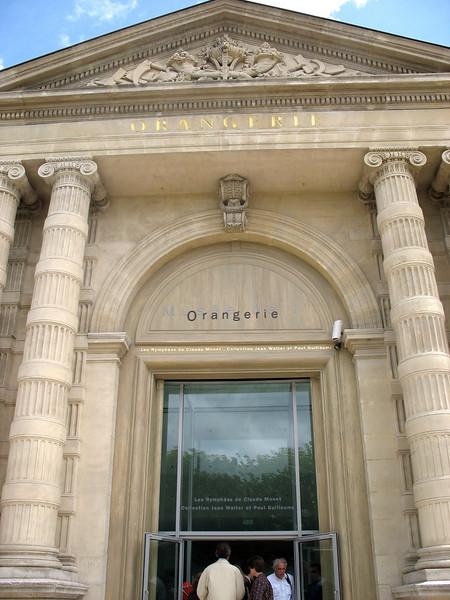 Oranagerie Museum.