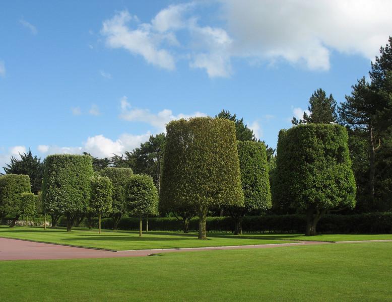 Colleville-sur-Mer grounds.