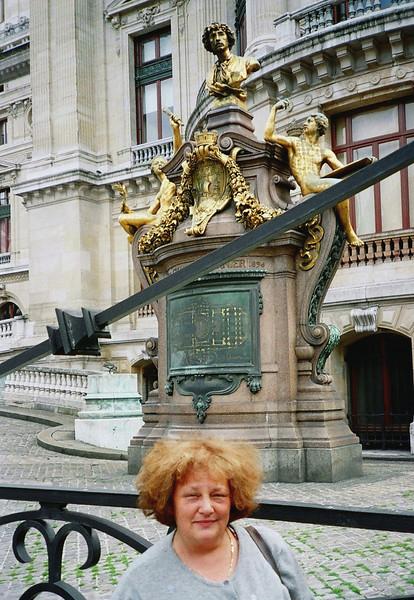 Outside Opéra Garnier