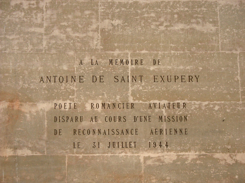 In Memory of Saint Exupery.