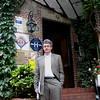 Outside entrance to Dormy House, Etretat.