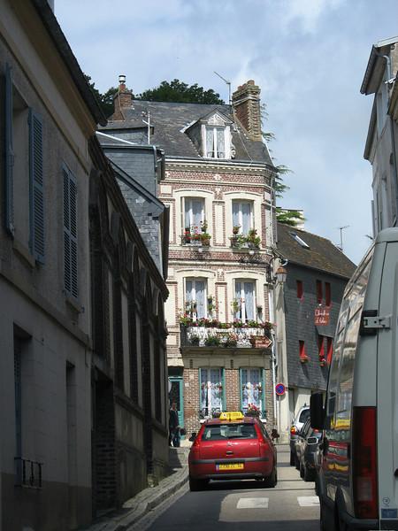 Honfleur street.