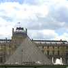 The Louvre with pyramid, love it or hate it.