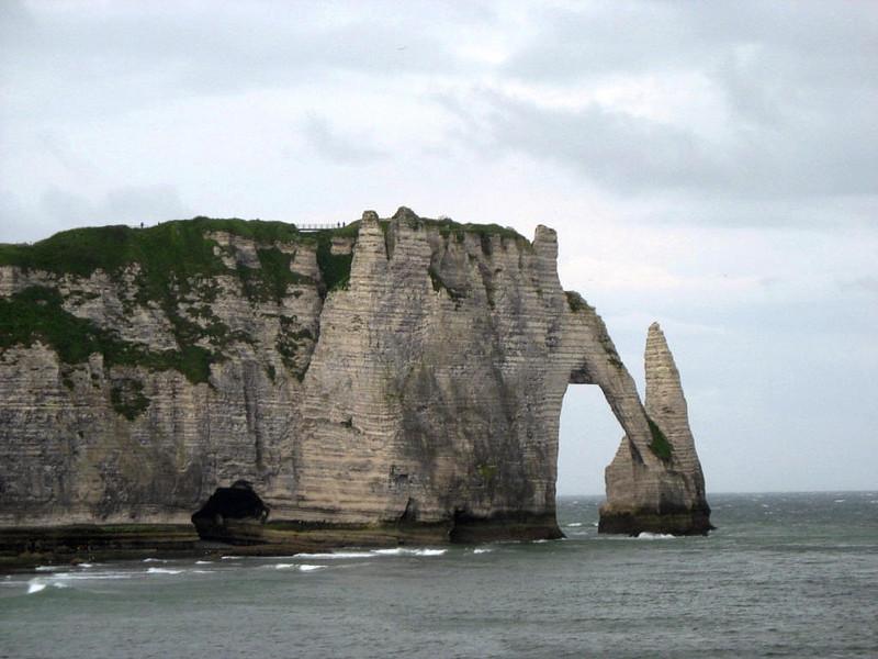 Cliffs of Etretat.