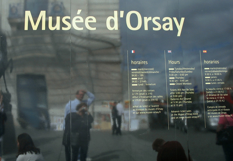 Our reflection, Musee d'Orsay.