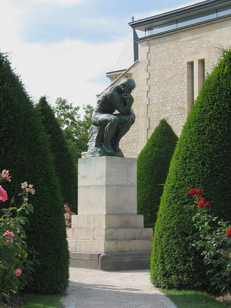 "Rodin's ""Thinker"""