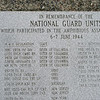 National Guard Memorial, Omaha Beach.
