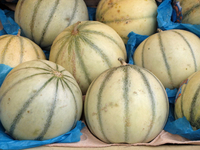 Melons on Rue Cler.