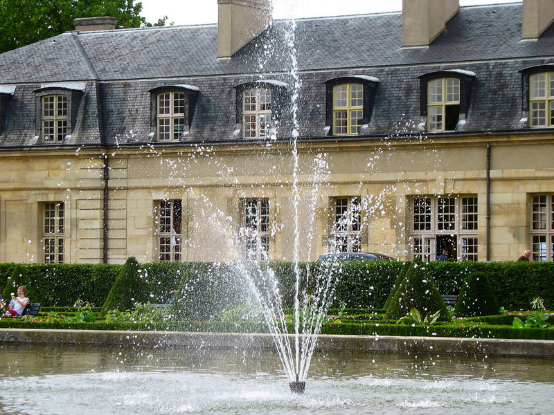 The grounds of Les Invalides.