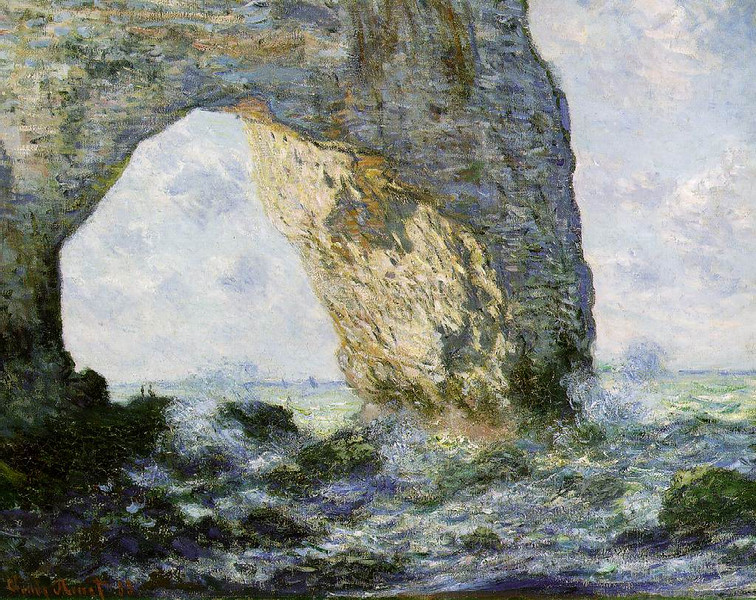 Etretat by Monet