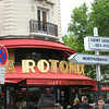 La Rotonde, Montparnasse. The dream of Rustem's youth.
