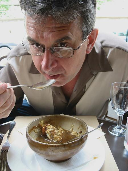 Love that onion soup.
