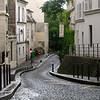 Montmartre street.
