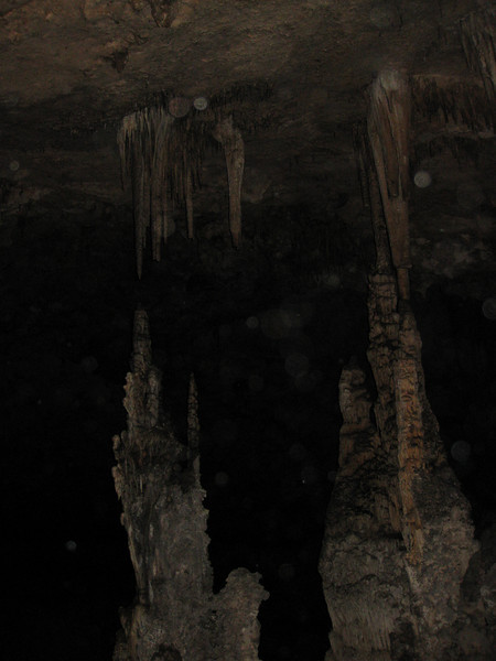 Inside Slaughter Canyon Cave