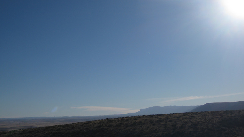 Parting shot of GUMO from Carlsbad Caverns