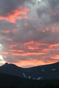 20110825 - 013 - GNP - Sunset From Glacier Park Lodge
