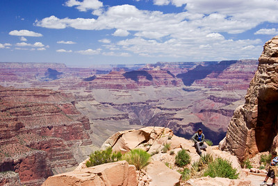 View from Ooo Ahh Point (.9 miles down S. Kaibab Trail)