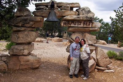 April & Steve at Hermit's Rest