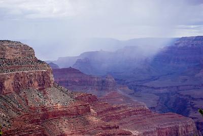 Rain in the canyon