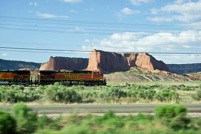 Lots of Train traffic in Arizona