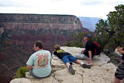 Eric Drew & Steve at the edge