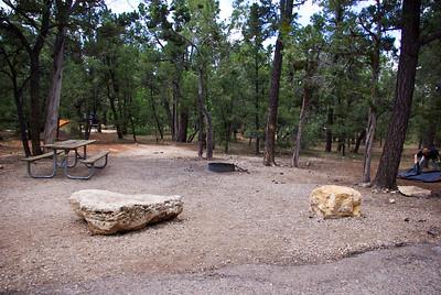 campsite we used all week